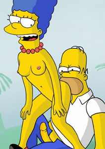 kinky Simpsons sex
