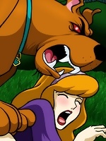 Daphne Blake gets fingered brutally by big dick and cums